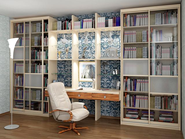 Библиотеки на заказ в конаково по индивидуальным размерам. м.