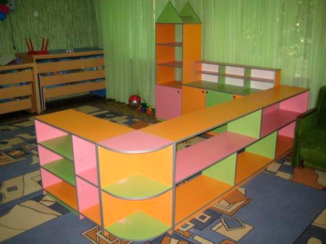 Мебель для детских садов, дошкольных и школьных учреждений п.
